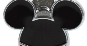 Mickey Mouse pet ID tag for children on vacation
