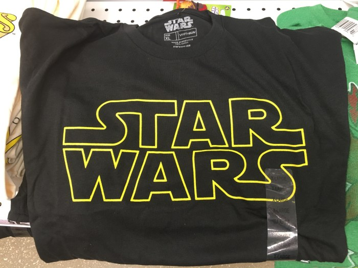Star Wars shirts for a Disney Vacation, Star Wars