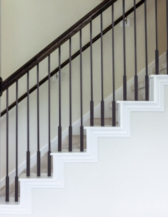 Wrought Iron Balusters For Stairs Cheap Stair Parts | House Of Forgings Balusters | Oval | Contemporary | Oil Rubbed | Modern | Forged Steel