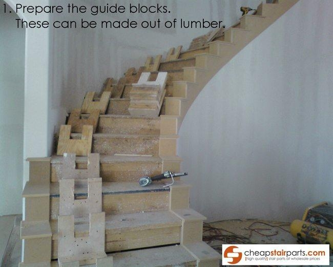 How To Bend Wooden Stair Handrail Cheap Stair Parts | Wooden Stair Railing Prices | Staircase Ideas | Deck Railing | Frameless Glass | Steel | Glass Stair