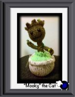 Knitted Baby Groot