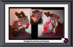 Crochet Rudolph The Red Nosed Reindeer