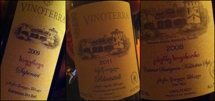 Vinoterra Wines