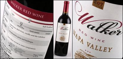 Walker Napa Valley Red