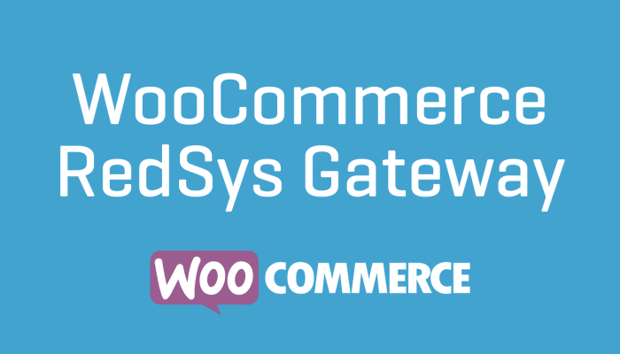 WooCommerce RedSys Gateway Cheap Plugin Wordpress Extension Free Updates