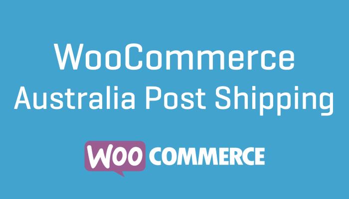 WooCommerce Australia Post Shipping Wordpress Plugin Extension