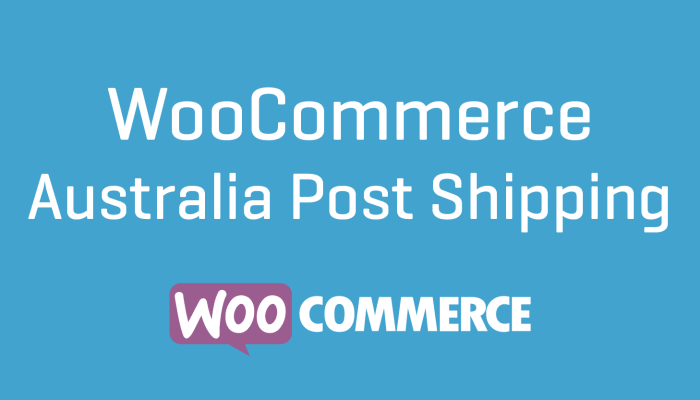 WooCommerce Australia Post Shipping Wordpress Plugin Extension