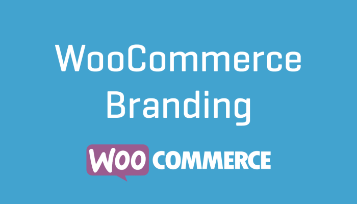 WooCommerce Branding Extension Plugin Cheap Wordpress