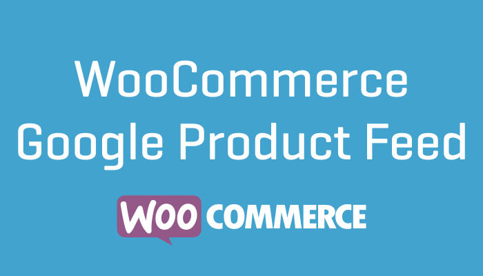 WooCommerce Google Product Feed