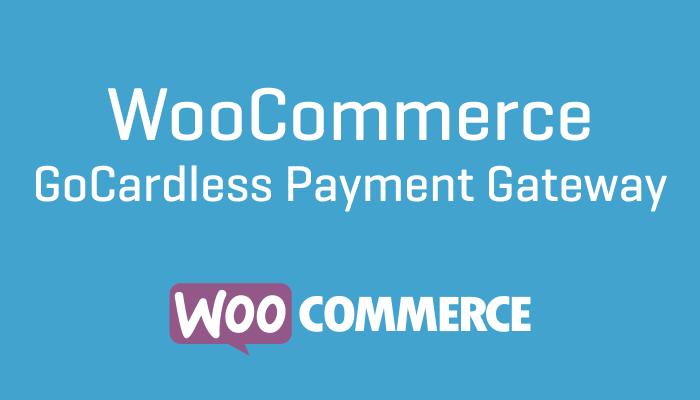 WooCommerce GoCardless Payment Gateway