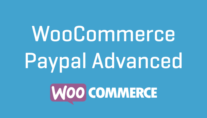 WooCommerce Paypal Advanced Extension 1.22