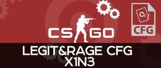 Legit&Rage CFG X1N3