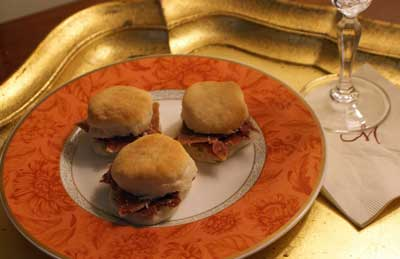 tennessee country ham and angel biscuits