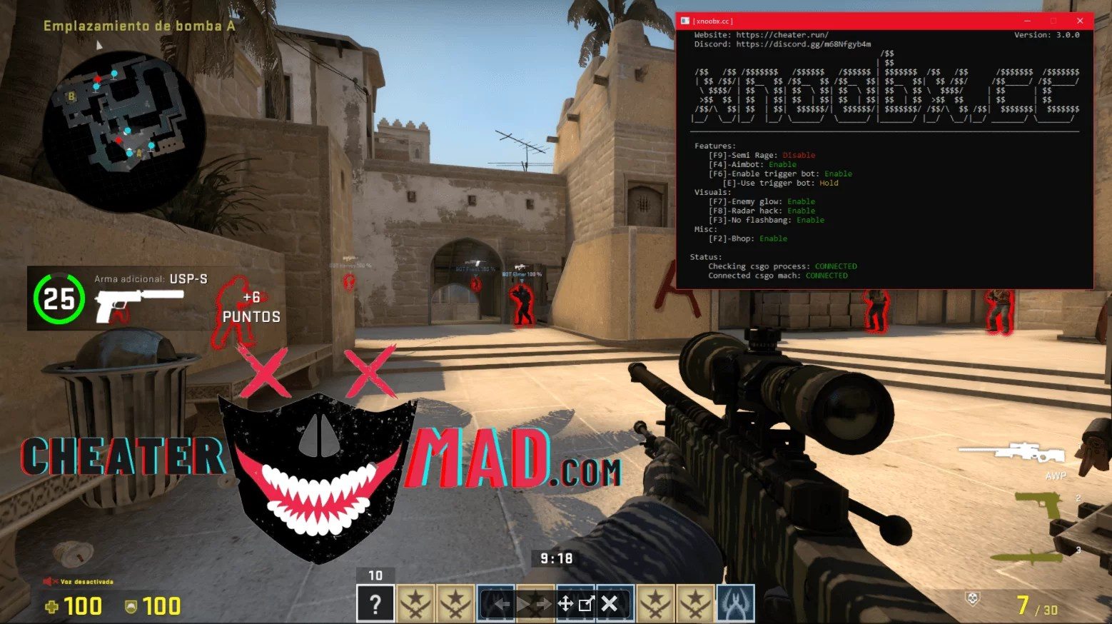 CS:GO External Hack - Aimbot, Bhop and more... - Download CS:GO External Hack - Aimbot, Bhop and more... for FREE - Free Cheats for Games