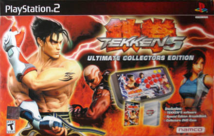 Game Tekken 5 PS2