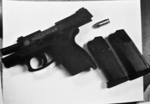 SEMI-AUTOMATIC HANDGUN WITH ADDITIONAL AMMUNITION TAKEN TO SYCAMORE MIDDLE SCHOOL STUDENT ON SEPTEMBER 28, 2016