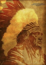 Native Americans were already inhabiting American lands prior to Christopher Columbus discovering the New World.