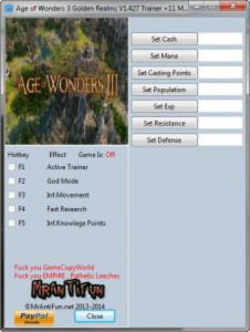 Stronghold Crusader 2 version 1.0.20907 [trainer +3] - cheats