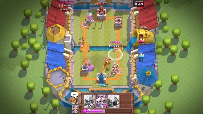 clash royale game play