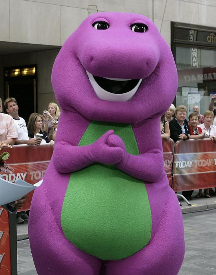 Barney & Friends If The Shoe Fits : barney, friends, React, Barney, Heading, Screen