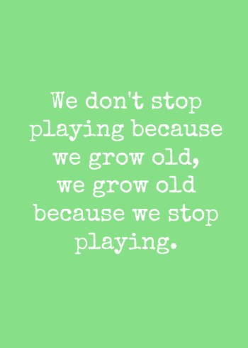 play and be happy