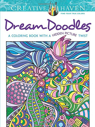 Coloring book with a twist