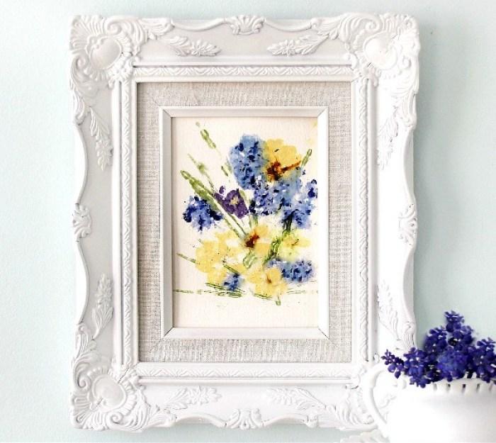 pounded flower art