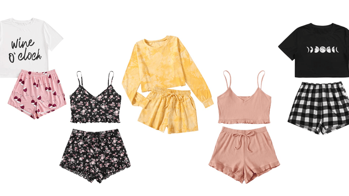 Sleepwear Trends This Spring/Summer Are Cute & Comfy Pajamas