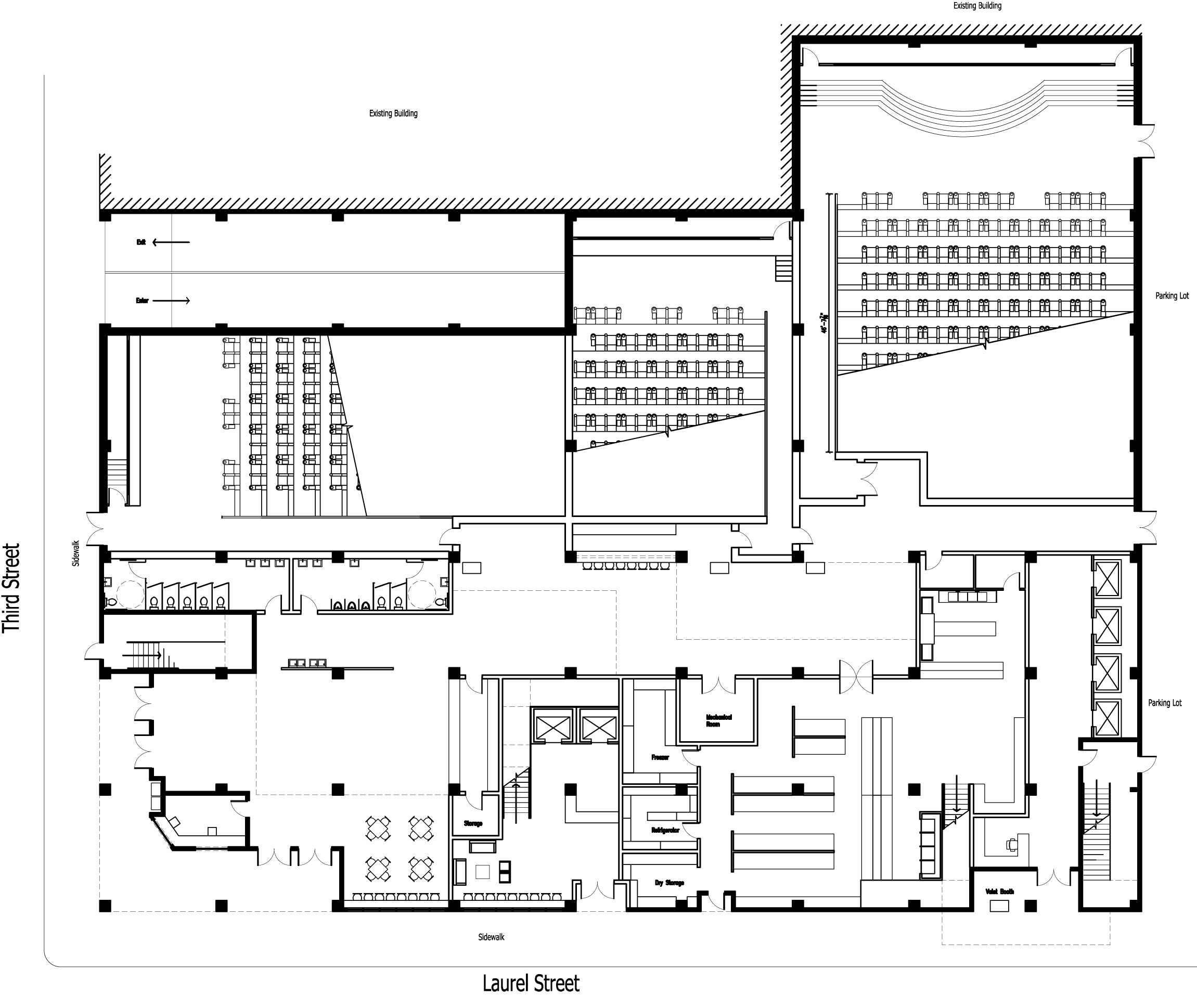 Home Theater Design Floor Plan