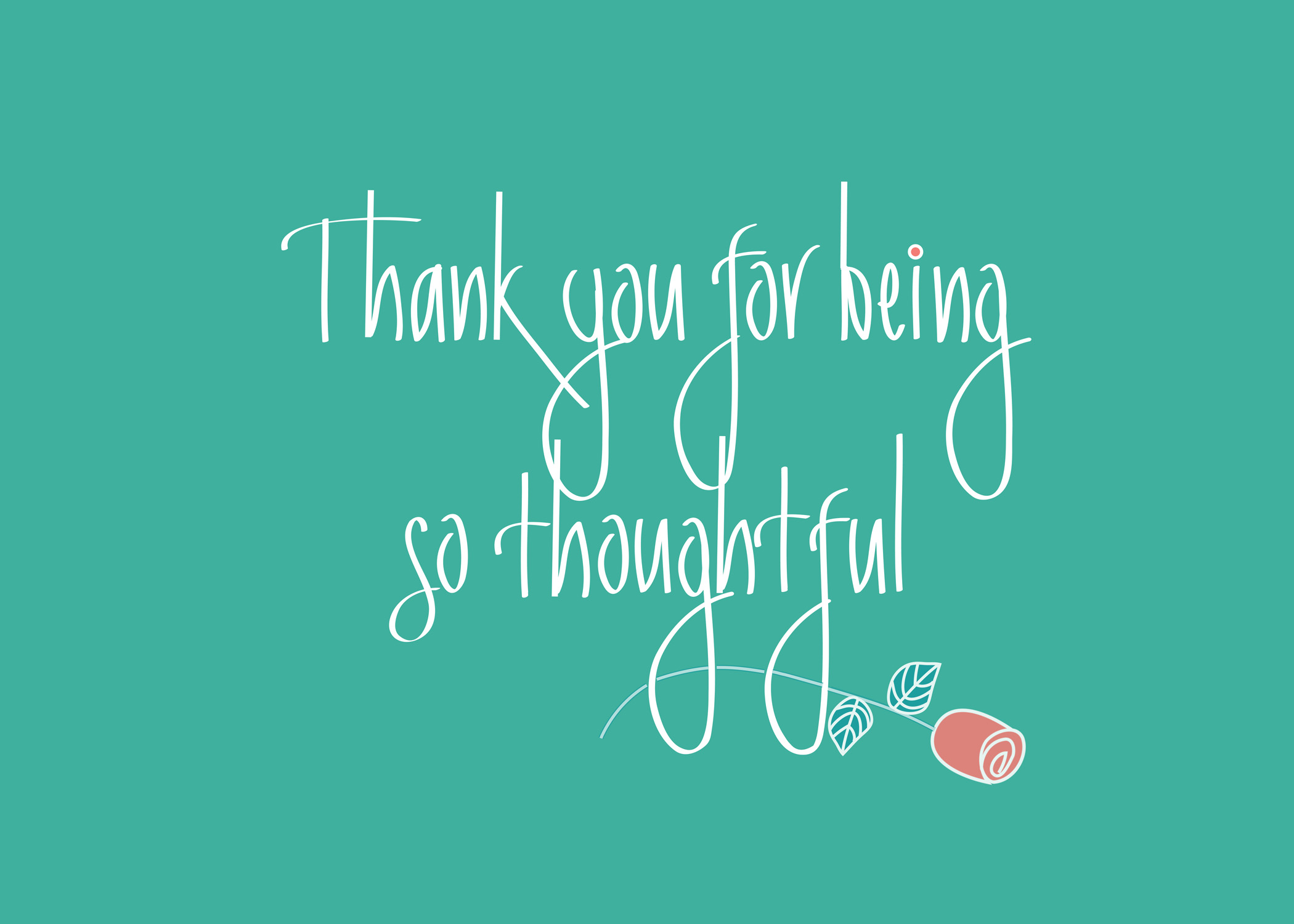 Thoughtful Thank You Quotes Quotesgram