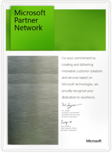 Microsoft Network Partner
