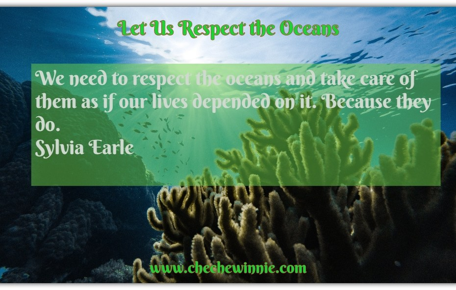 Let Us Respect the Oceans