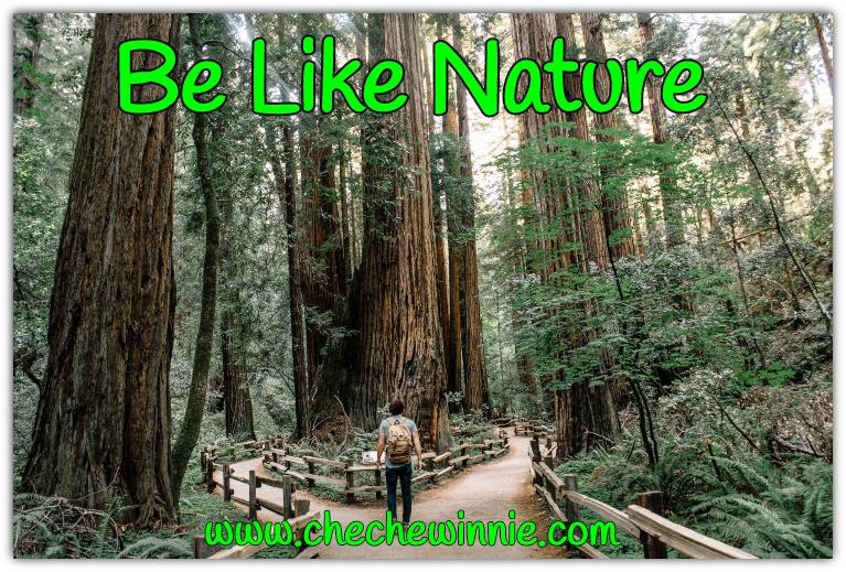 Be Like Nature