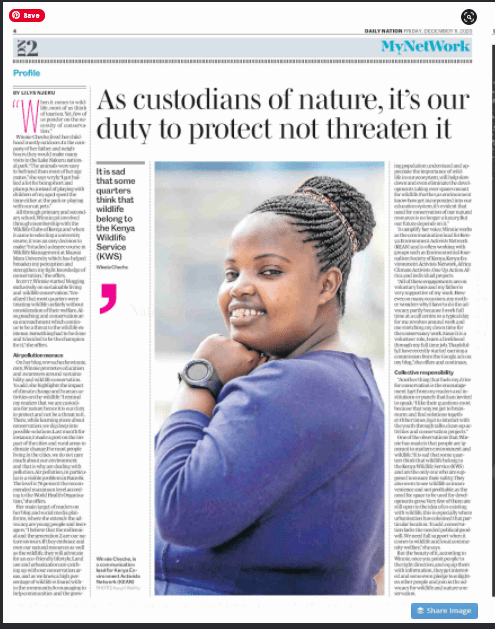 Daily Nation on 11th December 2020