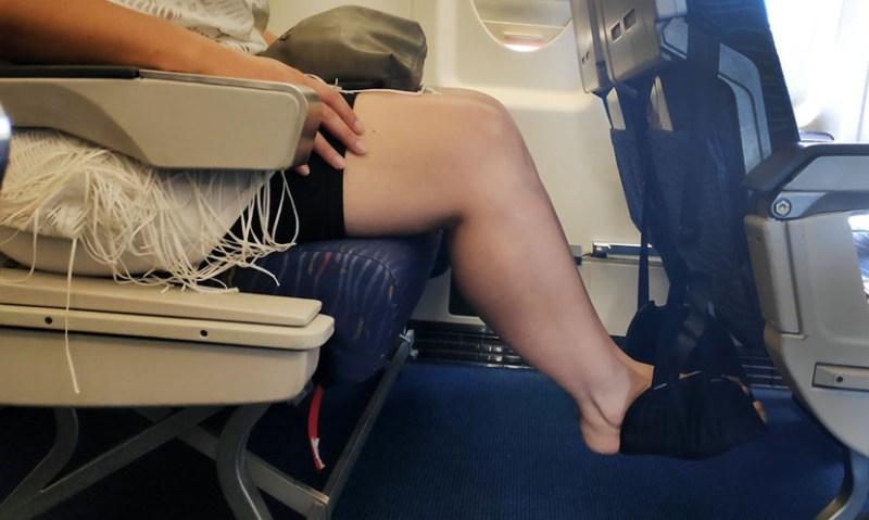 ערסל לרגליים לטיסה