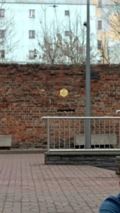 שריד מחומת גטו ורשה