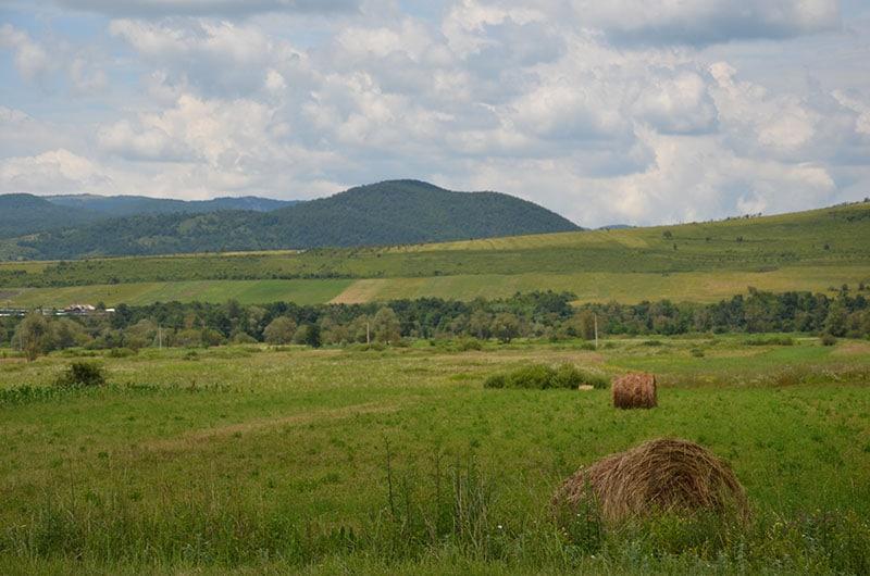 נופים במערב רומניה