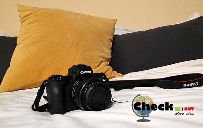 ציוד צילום לבלוגרי טיולים