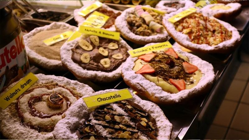 לנגוס שוק מקורה בבודפשט