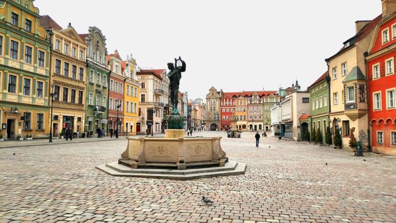 כיכר העיר העתיקה בפוזנן