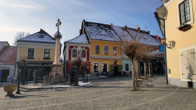 העיירה Szentendre סנטאנדרה הונגריה