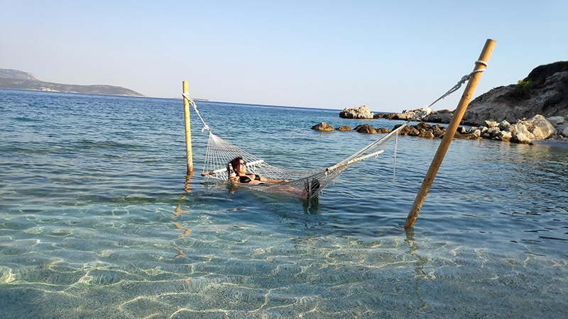 ערסל חוף הים בסאמוס