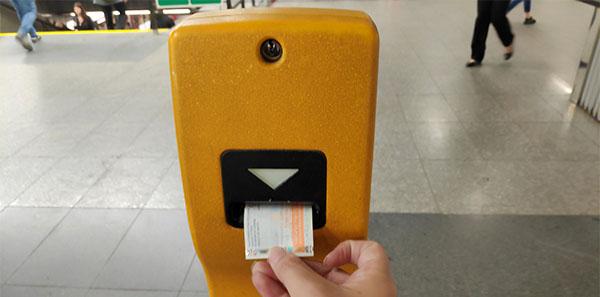 איך לתקף כרטיס לרכבת בפראג