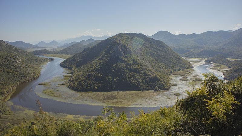 אגם סקאדר, נקודת תצפית - פאבלובה סטרנה