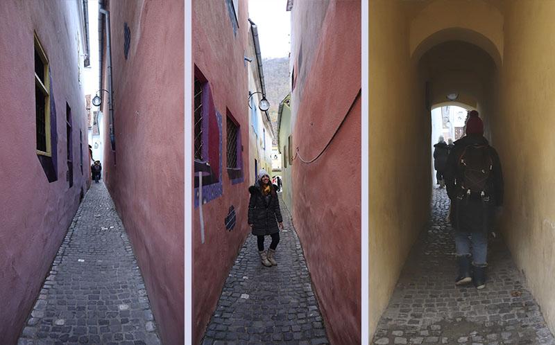 רחוב השרוך - הרחוב הצר ביותר בבראשוב