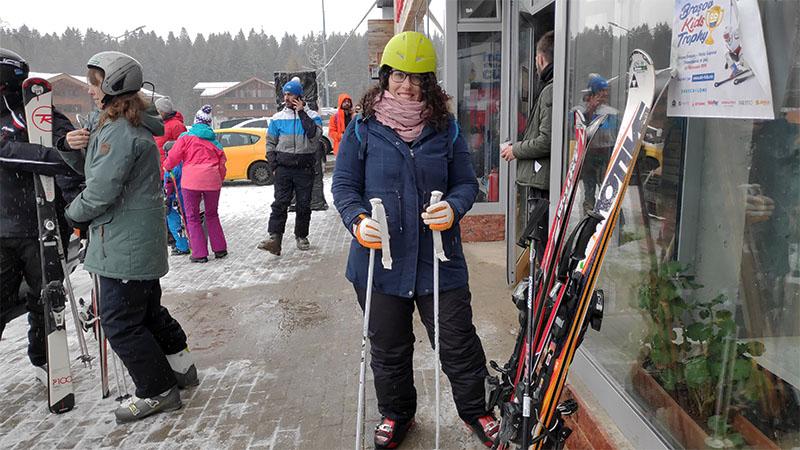 ציוד סקי