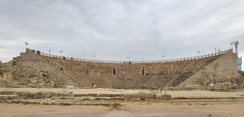 התאטרון הרומי בקיסריה