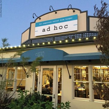 Front of Ad Hoc - Yountville, CA