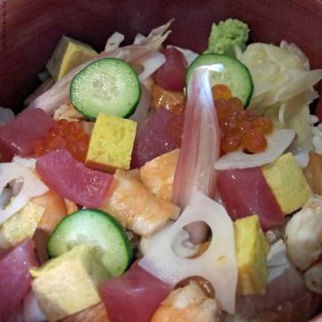 Chirashi Bowl at Morimoto Napa