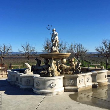 Statue at Jacuzzi Family Vineyards